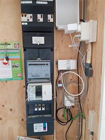 Bekend Meterkast opruimen en kabels wegwerken | dBThuisTechniek ZW19